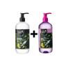 Álcool Gel Tea Tree Oil - 500ml + Gel de Lavagem Mãos Plus