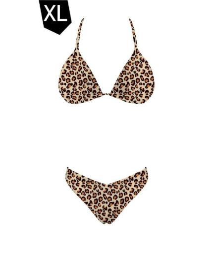 Biquíni Selva ao Sol -Leopardo (TAMANHO XL)