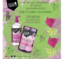 Kit Cachinhos  (OFERTA: MÁSCARA DE PROTEÇÃO INFANTIL - VERDE)